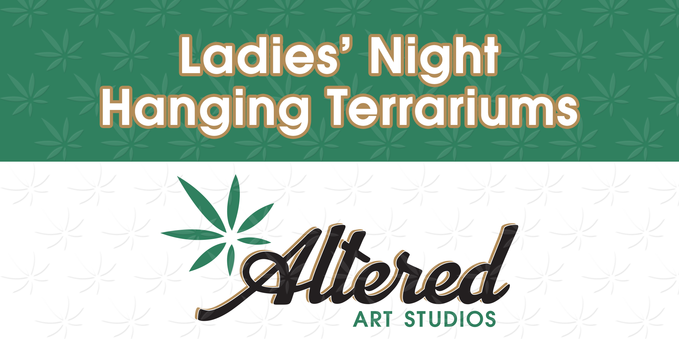 Ladies Night- Hanging terrariums