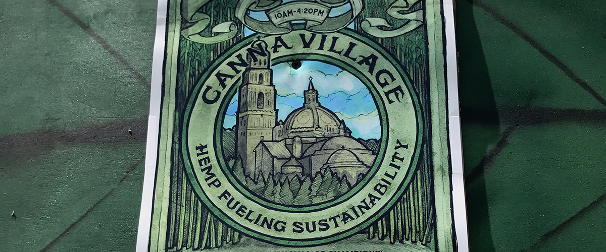 Cannabis Village at Earth Day