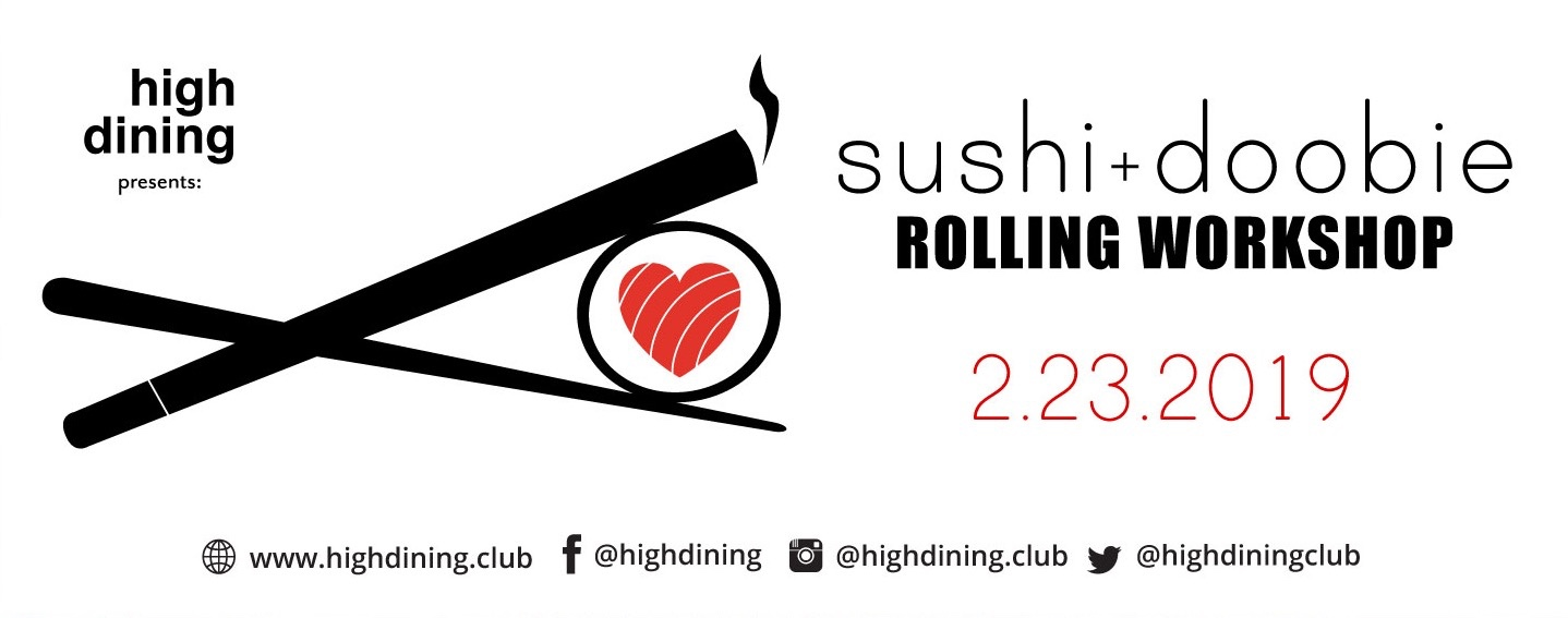 Sushi + Doobie Rolling Workshop