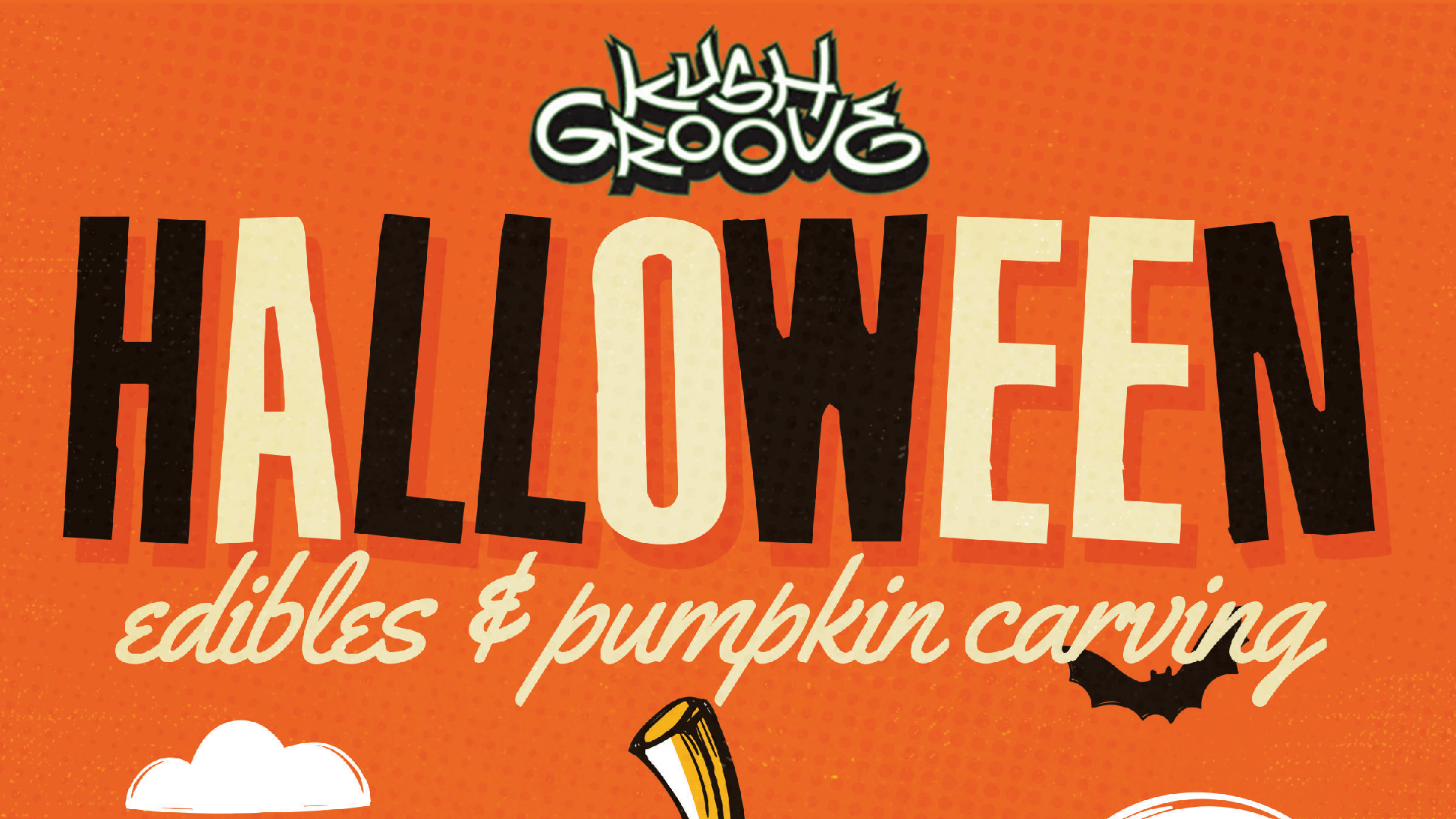 Kush Groove Halloween Edibles & Pumpkin Carving Party