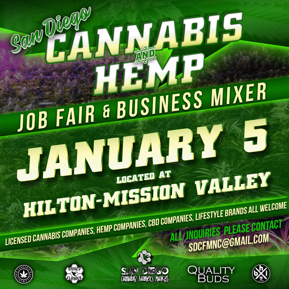 San Diego Cannabis and Hemp Job Fair & Business Mixer