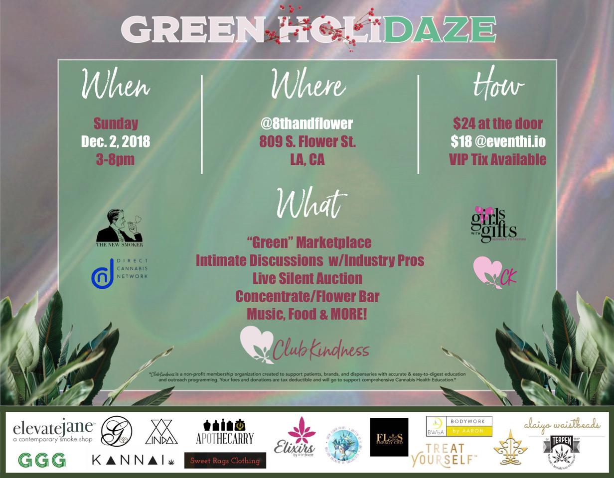 Green HoliDAZE