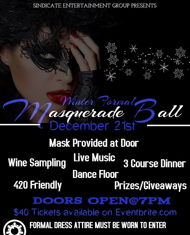 Masquerade Ball: Winter Formal