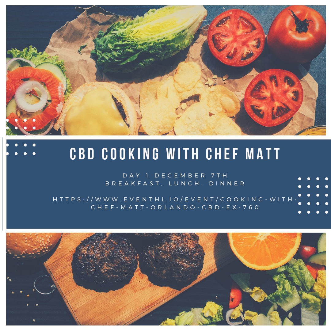 Cooking with Chef Matt Orlando Cbd Expo