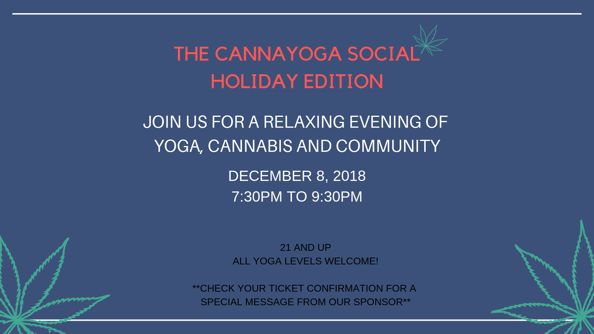 CannaYoga Social- North Hollywood
