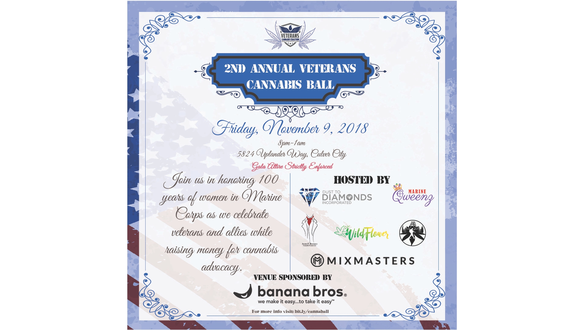 2nd Annual Veterans Cannabis Ball