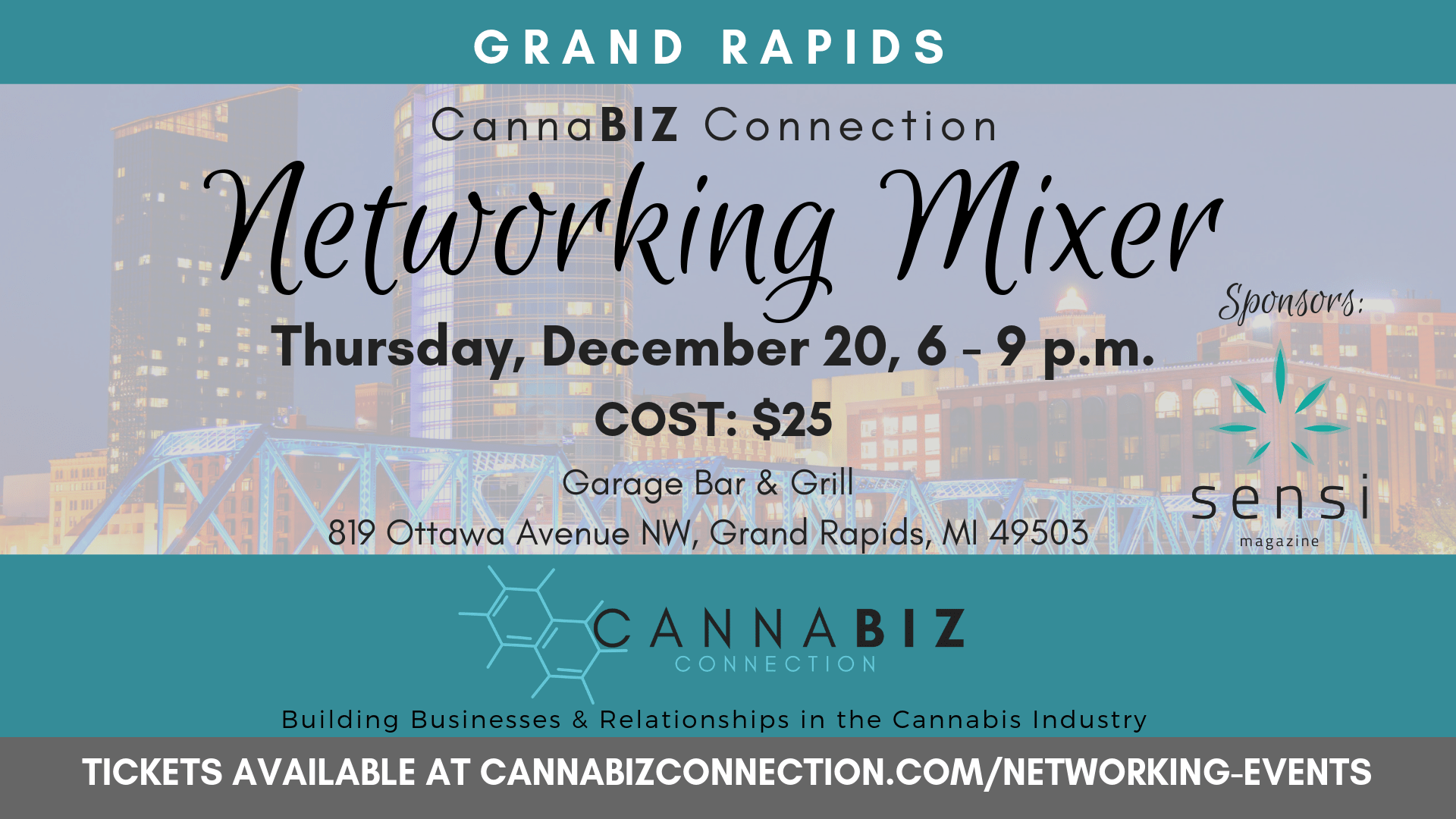 Grand Rapids Cannabiz Connection Monthly Networking Mixer