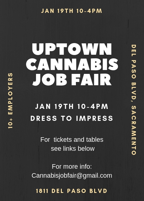 Uptown Cannabis job Fair