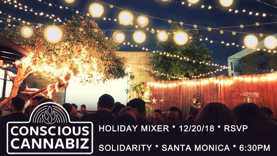 Conscious Cannabiz * Winter Solstice * Holiday Mixer