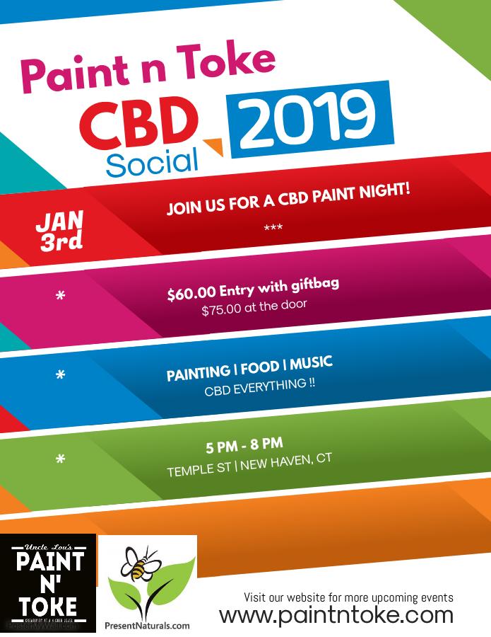 CBD Paint n Toke Social