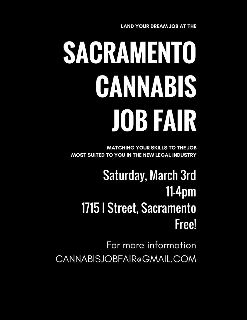 Sacramento Cannabis Job Fair 2018