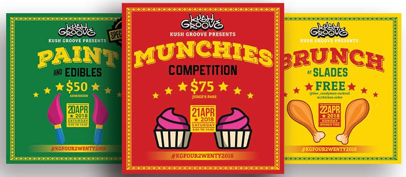 Kush Groove 4/20 Edibles Competition