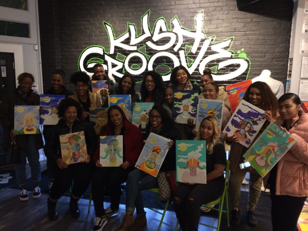 Kush Groove Paint Party (August)