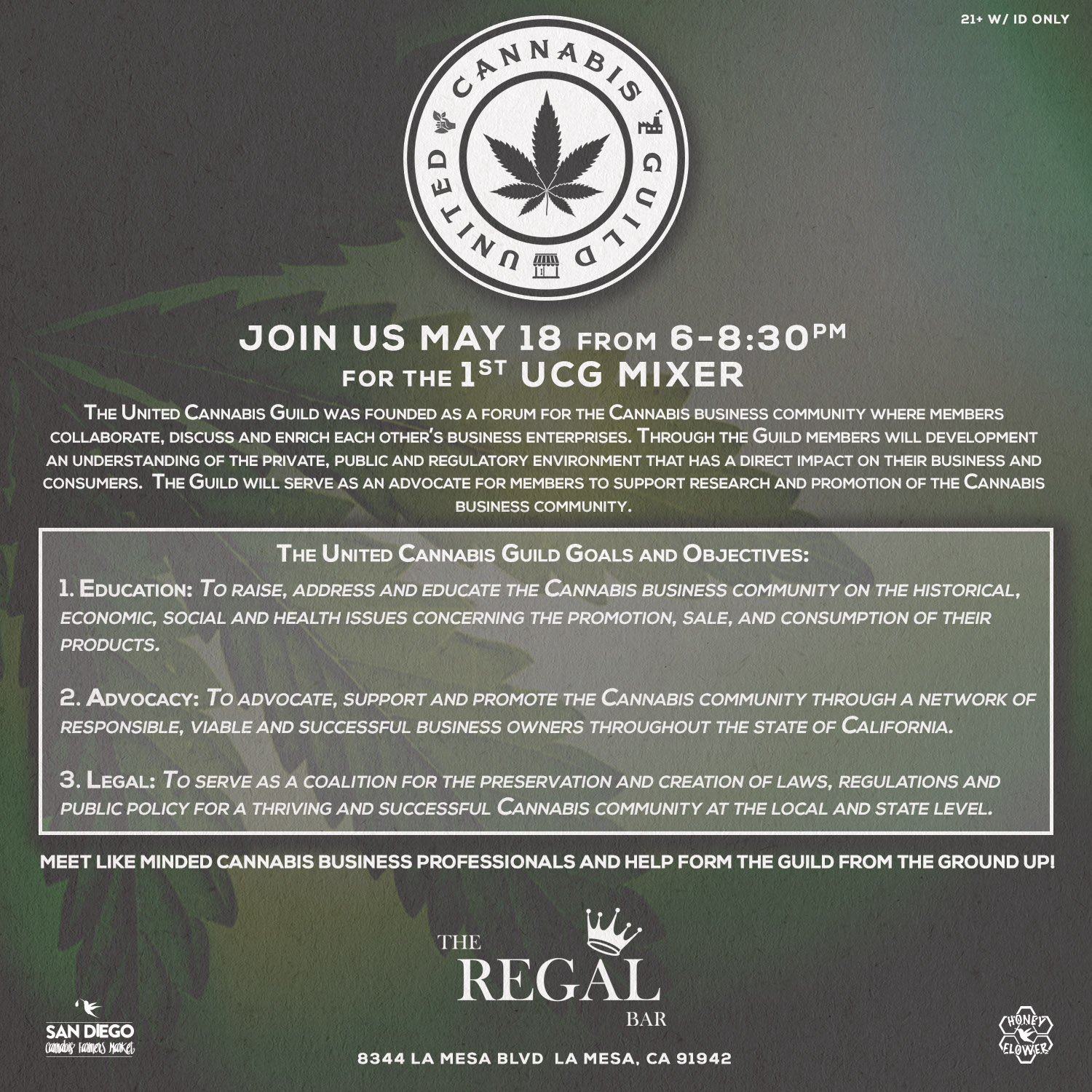 United Cannabis Guild First Mixer