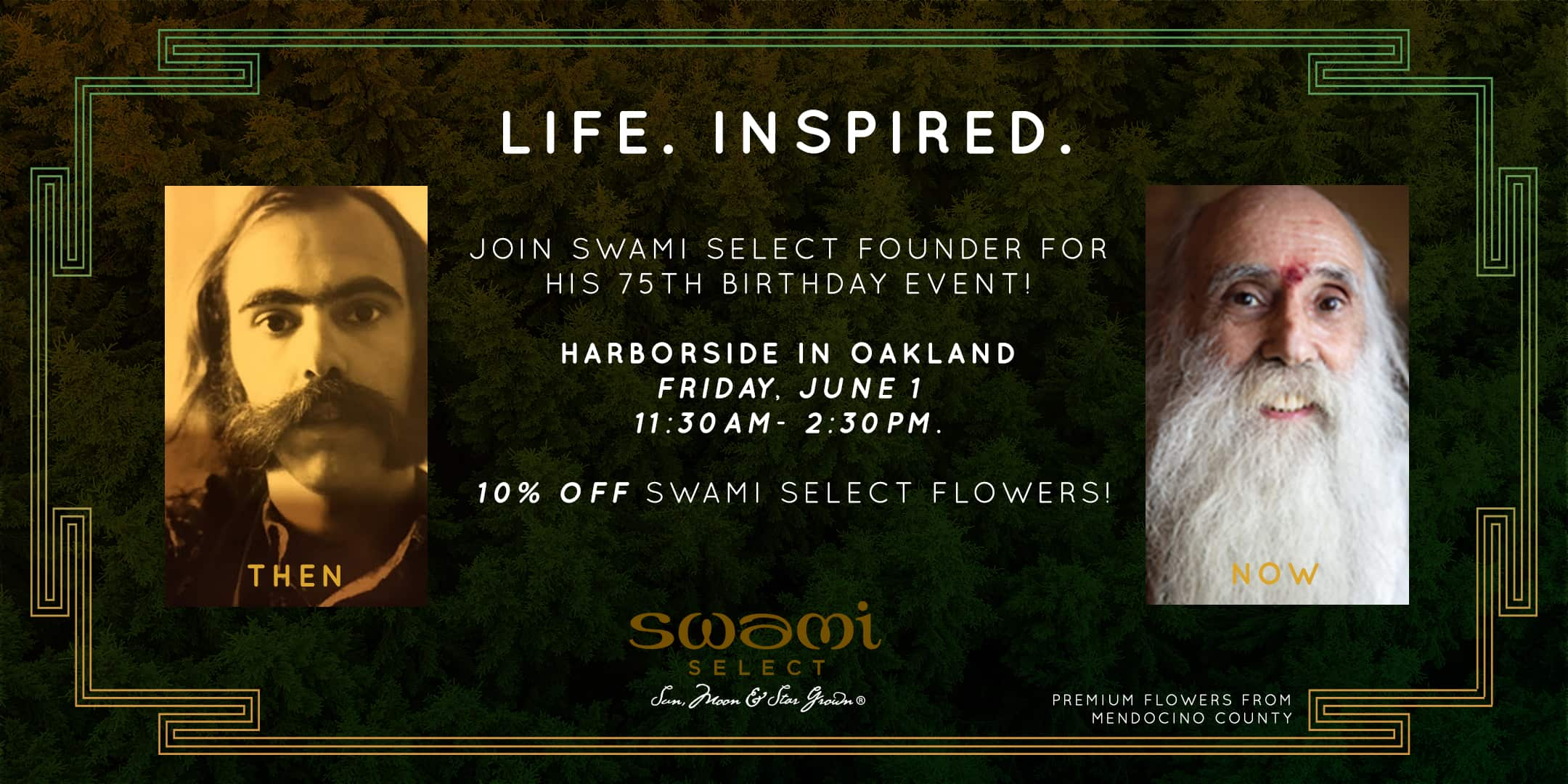 Celebrate Swami's 75th Birthday & 50+ Years of Using Cannabis Consciously