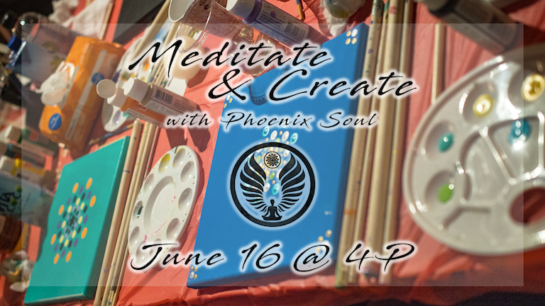 Meditate & Create (Yoga & Paint Workshop)