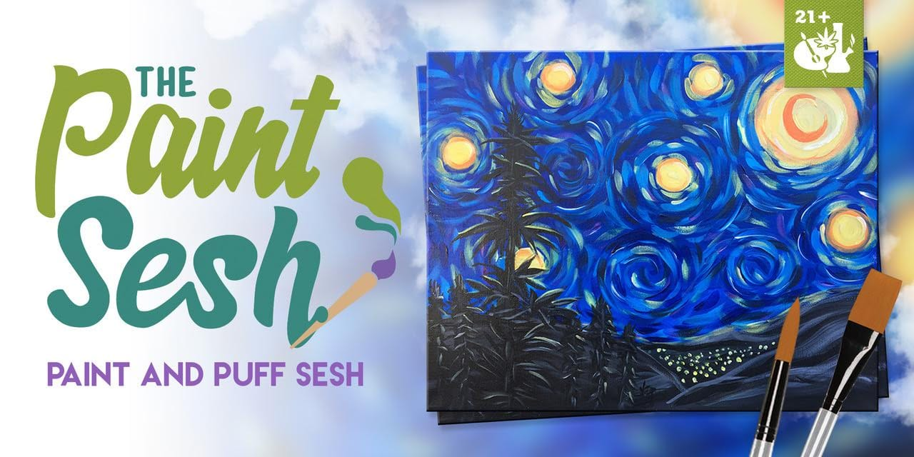 420 Friendly Paint Night in Colton, CA - Sativa Night