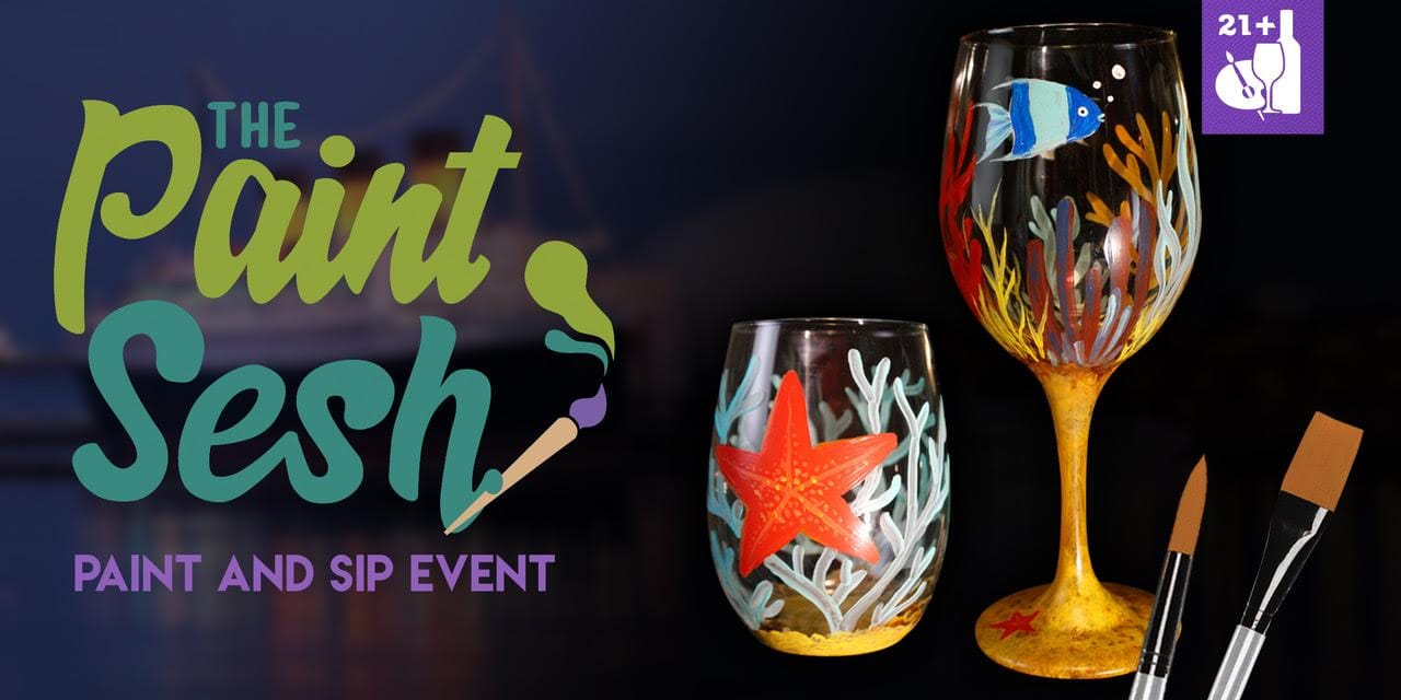 "Long Beach Paint and Sip Event - ""Under the Sea"""