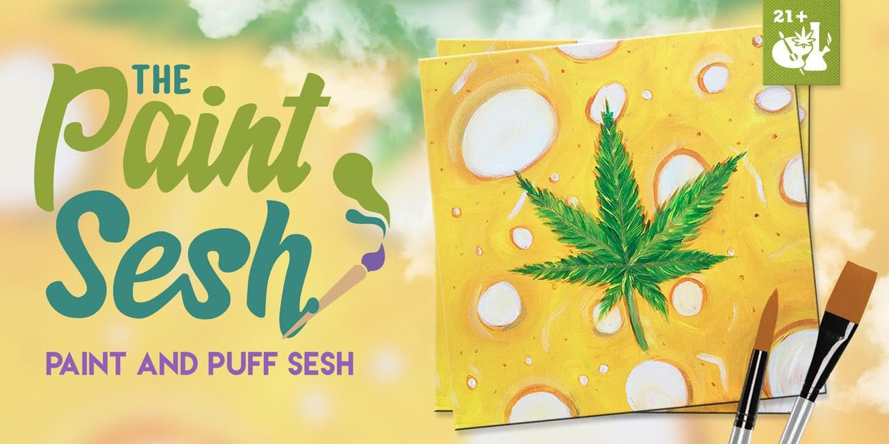 420 Friendly Paint Night in Colton CA - Slab City