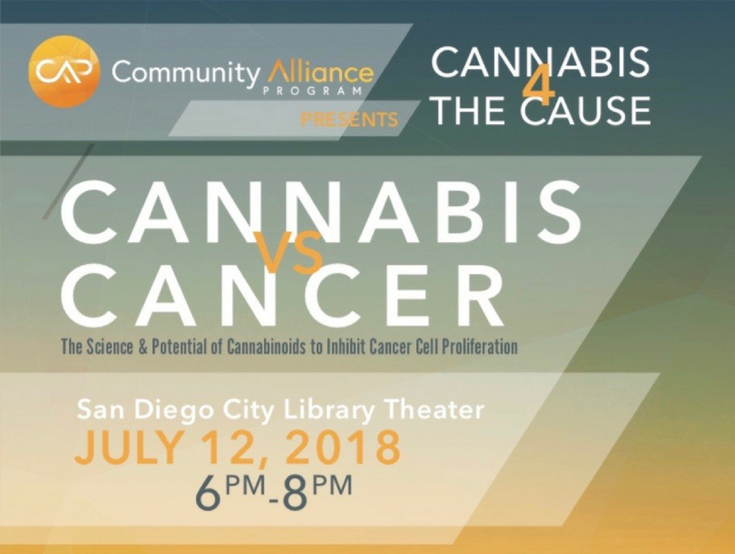 Cannabis vs. Cancer Discussions. The Science & Potential of Cannabinoids to Inhibit Cancer Cell Proliferations