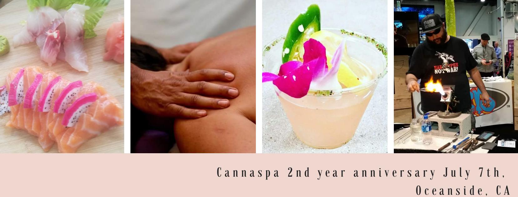 Cannaspa 2yr Anniversary