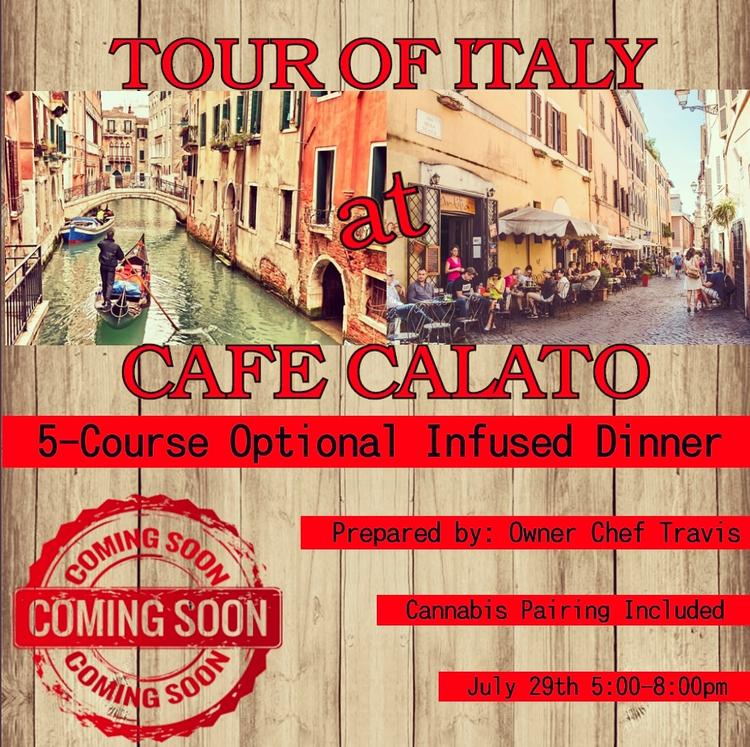 Tour of Italy at Cafe Calato