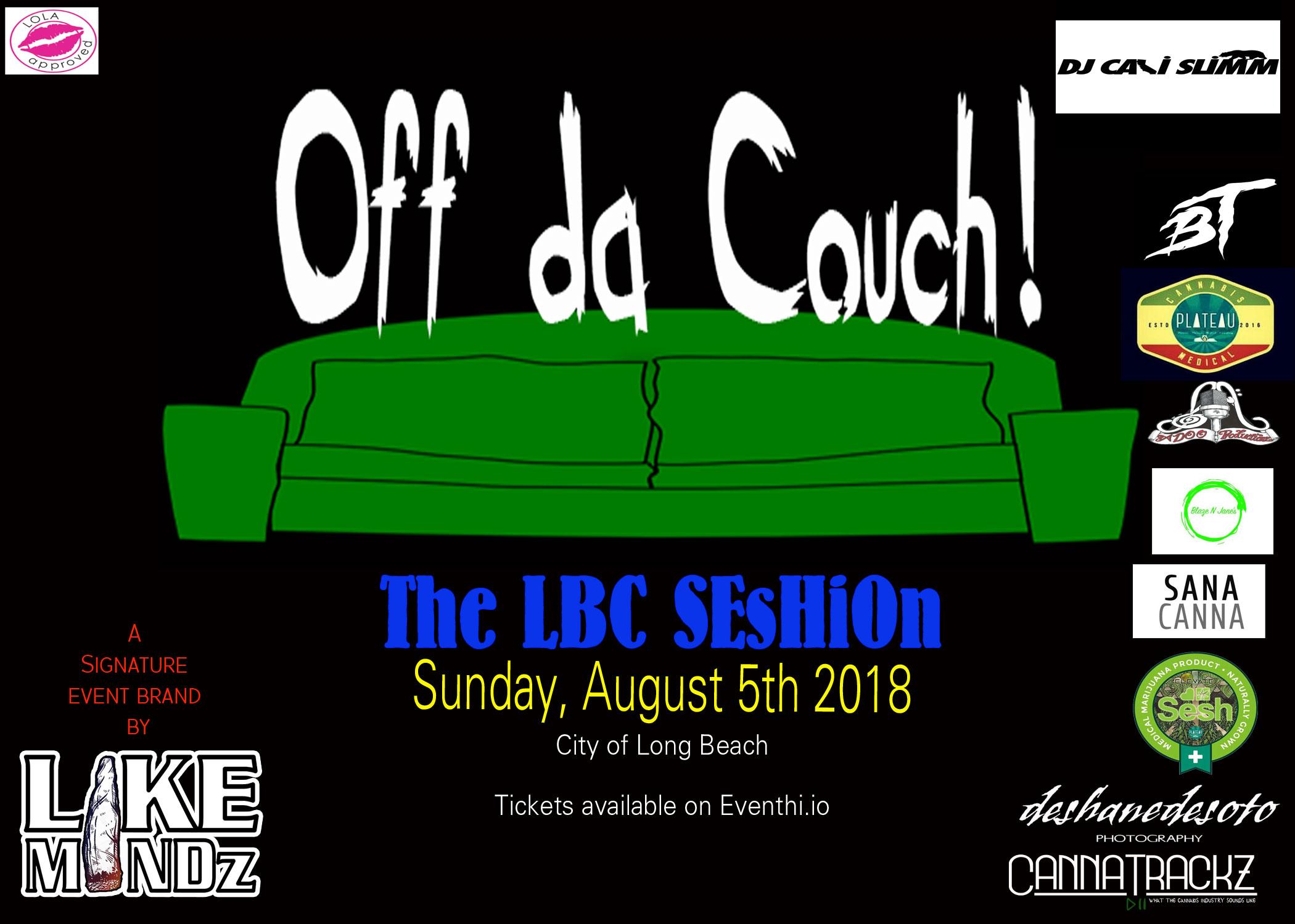 Off Da Couch! : The LBC Seshion