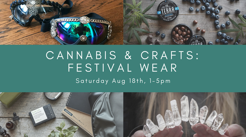 Cannabis & Crafts: Playa Wear Edition
