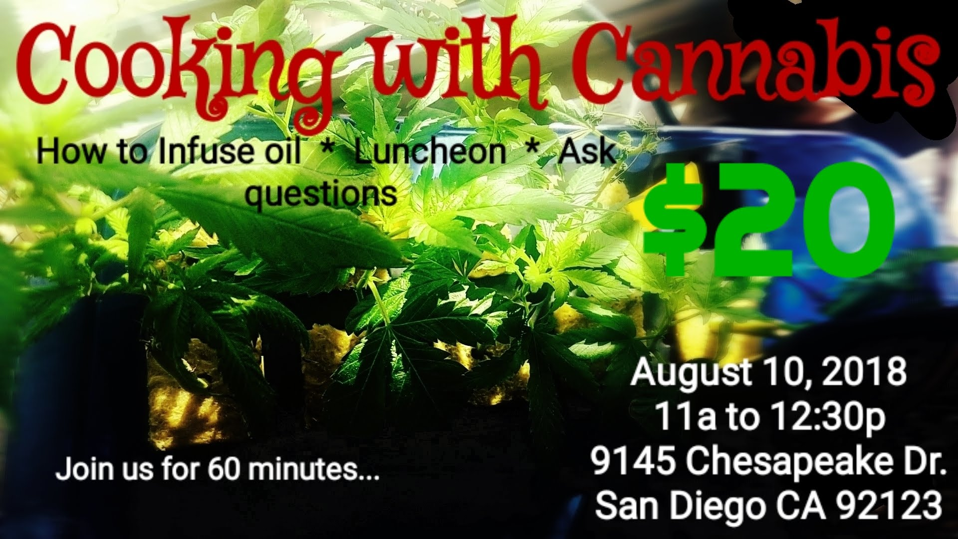 CANNABIS AND COOKING