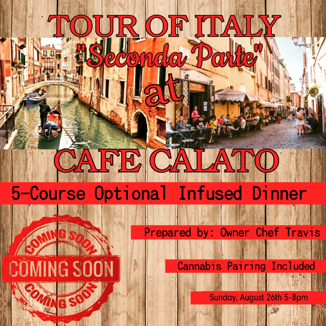 "TOUR of ITALY ""Seconda Parte"" at CAFE CALATO"