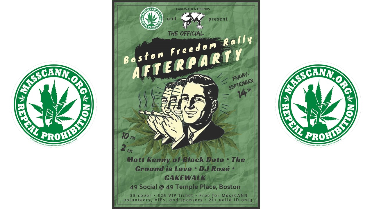 Official Boston Freedom Rally After Party (FRI)
