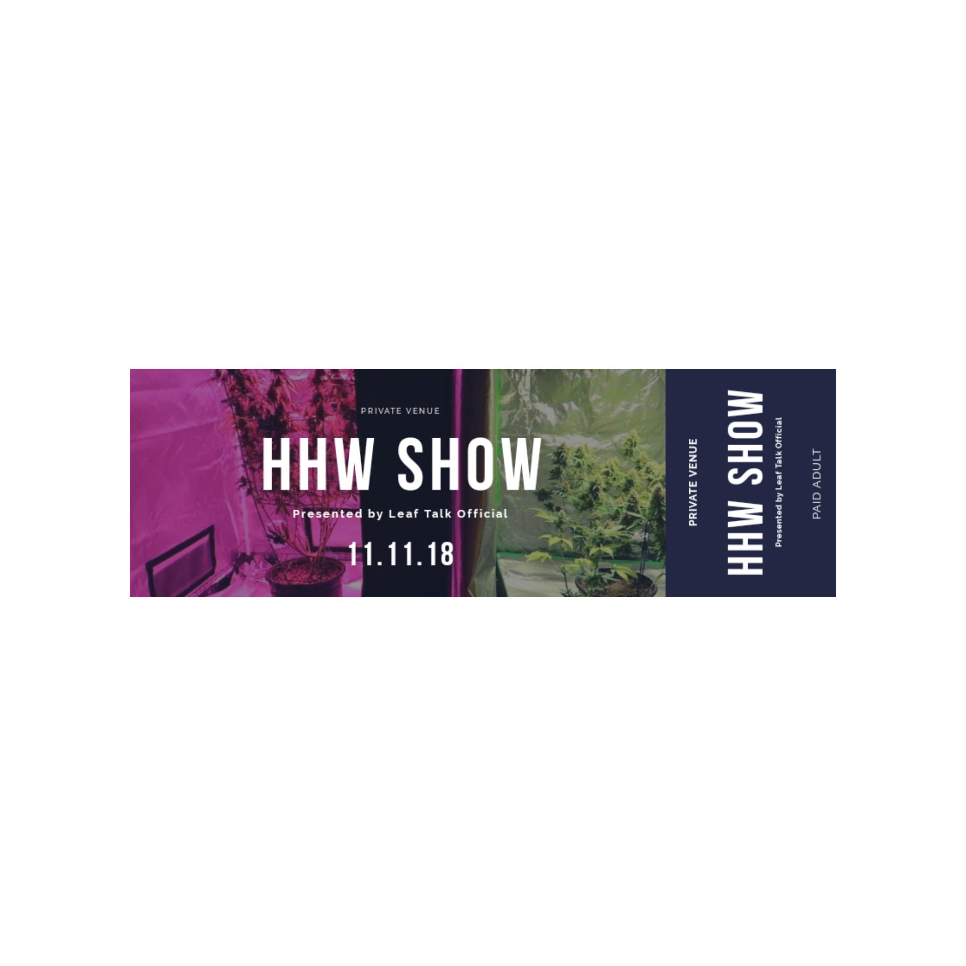 HHW Show