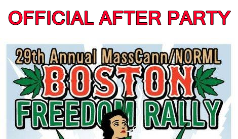VIP ACCESS: The Official MassCann Boston Freedom Rally After Party