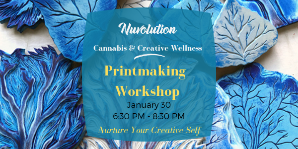 Cannabis & Creative Wellness: Printmaking Workshop