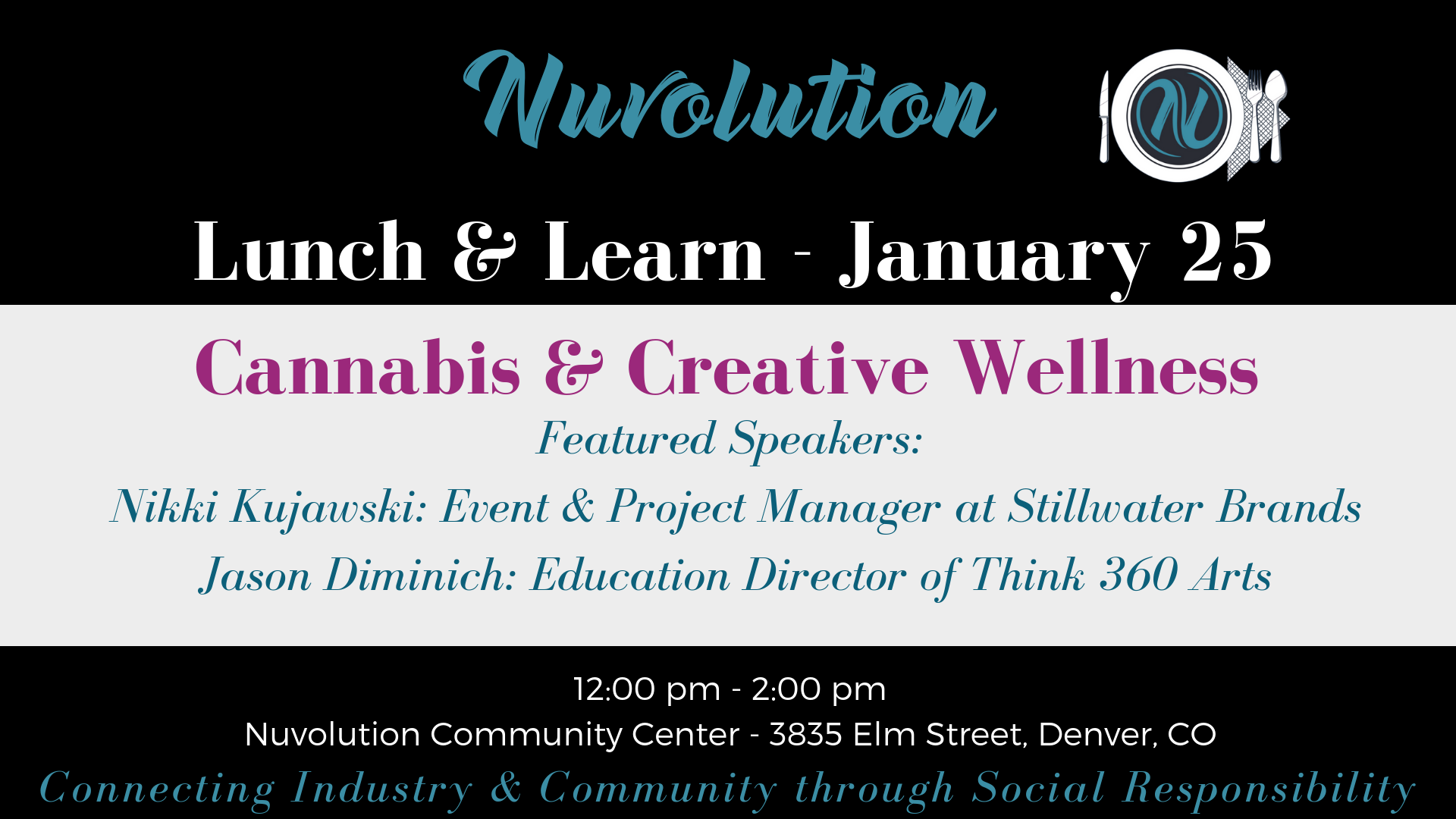 Nuvolution Lunch & Learn - January 25