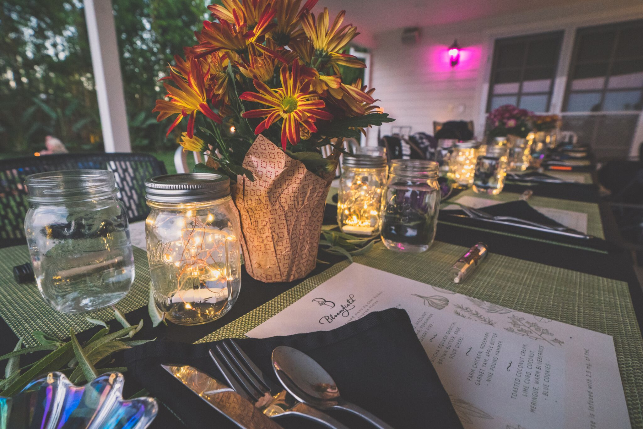 CANNABIS INFUSED DINNER SOIREE