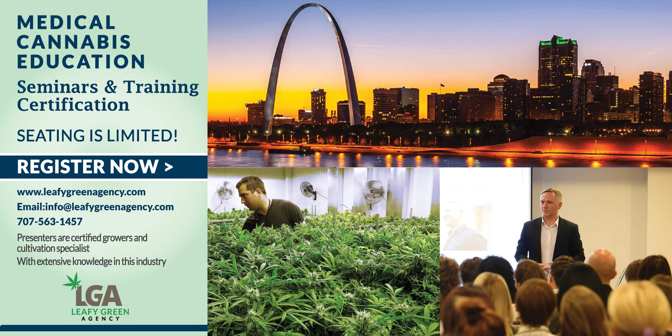 Cultivation and Grower Medical Cannabis  Training Seminar- St. Louis