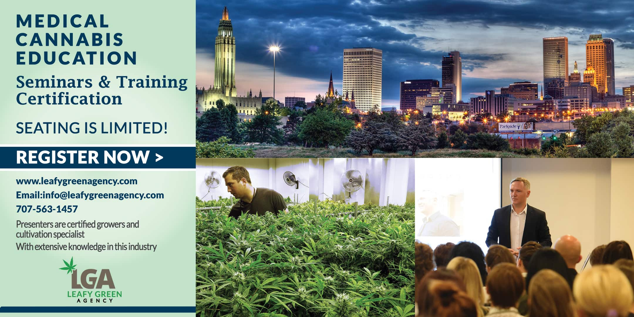 Cultivation and Growers medical marijuana Training -Tulsa