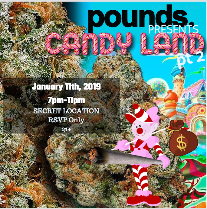 POUNDS. Candyland Pt 2
