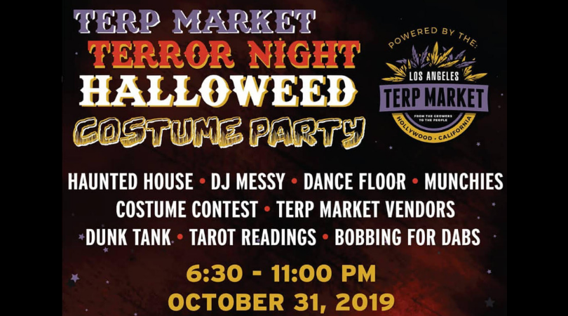 Terp Market Halloweed Costume Party: A Terrifying Thursday