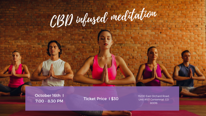 CBD- Infused Meditation & Movement  with Briana Bragg & Brenda McChesney Mino