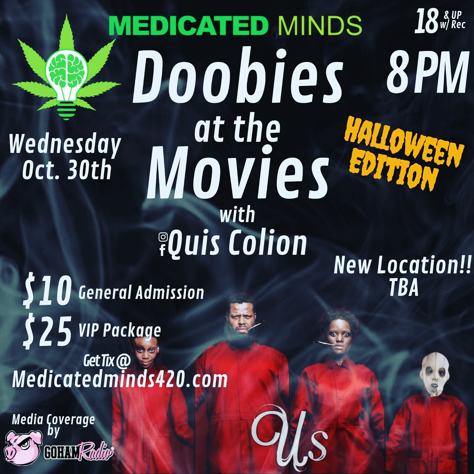 DOOBIES AT THE MOVIES HALLOWEEN EDITION