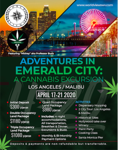 Adventures In Emerald City: A 420 Excursion