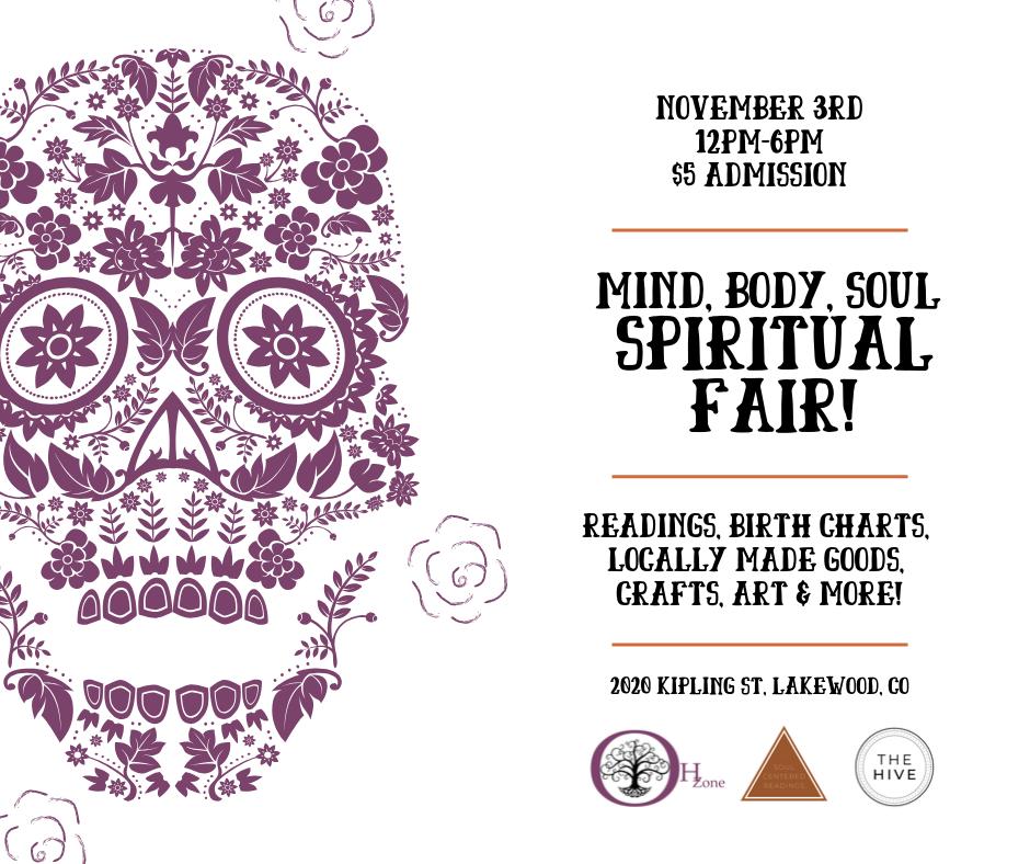 Mind, Body, Spirit: Spiritual Fair