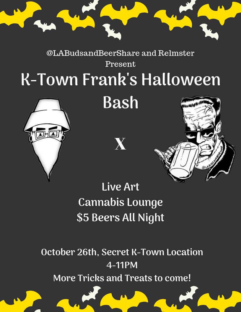 K-Town Frankenstein Halloween Bash