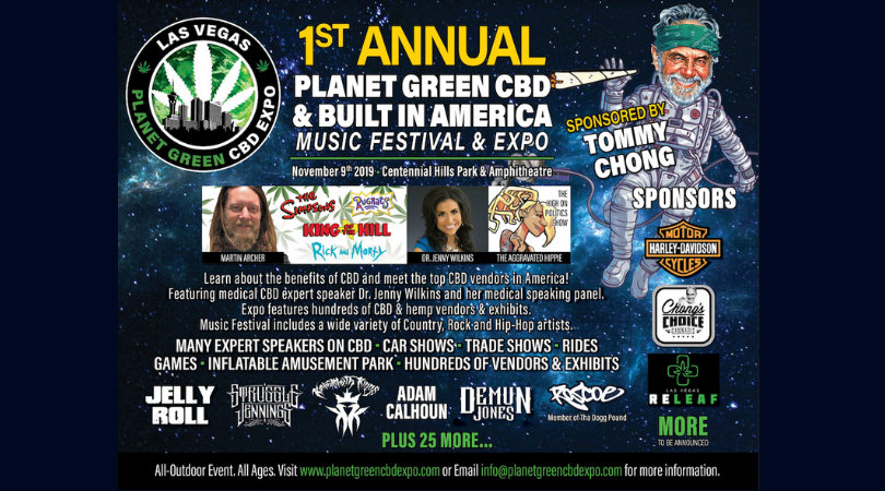 Built In America/PlanetGreen CBD Expo