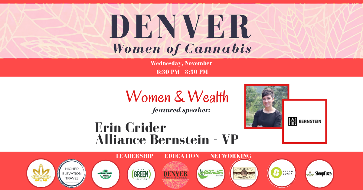 Denver Women of Cannabis November Networking Event