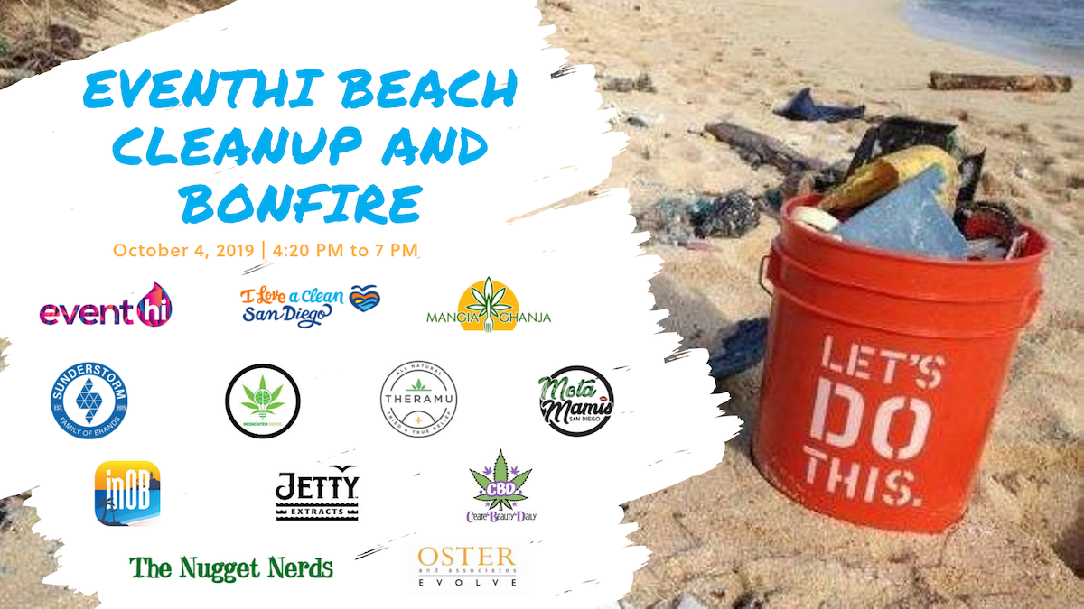 EventHi Beach Cleanup and Bonfire