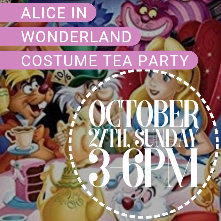 Alice in Wonderland Costume Tea Party
