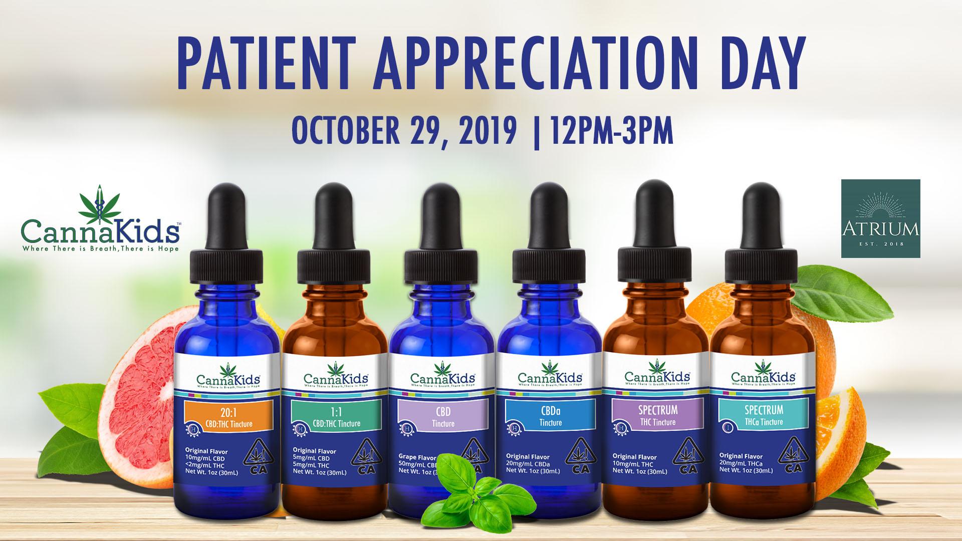 CannaKids Patient Appreciation Day at Atrium Topanga